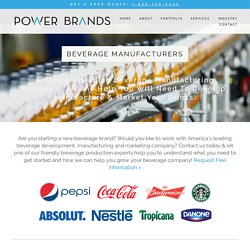 Power Brands — Beverage Development Drink Bottling