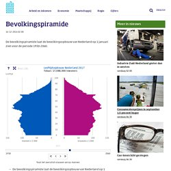 CBS - Bevolkingspiramide - demografie als basis voor planning