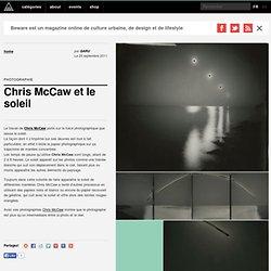Chris McCaw et le soleil