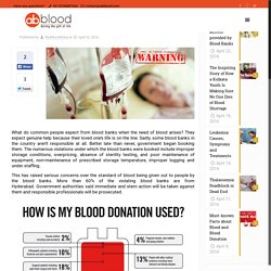 Beware of the BLOOD provided by Blood Banks - AbbloodAbblood