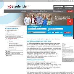 Bewerbungsschreiben-Muster downloaden! - Staufenbiel.de