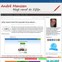 piZap: bewerk online foto's gemaakt met je webcam…
