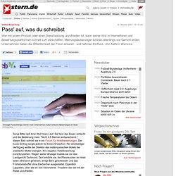 Online-Bewertung: Pass' auf, was du schreibst - Digital