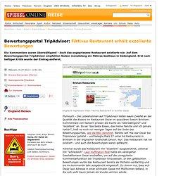 Bewertungsportal TripAdvisor: Falsches Restaurant