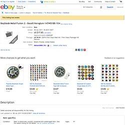 Beyblade Metal Fusion 2 - Basalt Horogium 145WD BB-104 | eBay UK