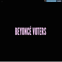 beyoncevoters.tumblr.com