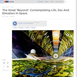 The Great 'Beyond': Contemplating Life, Sex And Elevators In Space