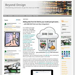 Beyond Design: the Construction and BIM blog