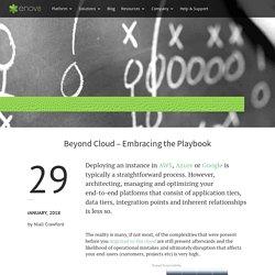 Beyond Cloud – Embracing the Playbook