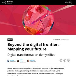 Beyond the digital frontier