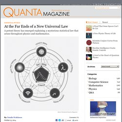 Beyond the Bell Curve, a New Universal Law
