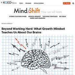 Beyond Working Hard: What Growth Mindset Teaches Us About Our Brains