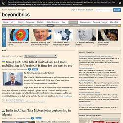 beyondbrics | News and views on emerging markets from the Financial Times