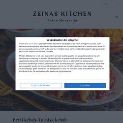 Beyti kebab-Turkisk kebab - Zeinas Kitchen