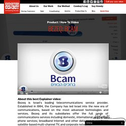 Bezeq: Bcam - How to Brand Video