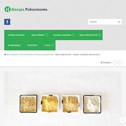 Mąki bezglutenowe - rodzaje i przykłady wykorzystania - Alergia pokarmowa