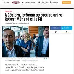 A Béziers, le fossé se creuse entre Robert Ménard et le FN