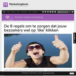 Hoe sociaal is jouw website?