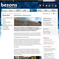 Bezons : Médiathèque Maupassant