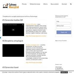 Bezpłatne narzędzia edukacyjne od eTechnologie.pl