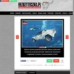 sQuba to pierwszy podwodny samochód.