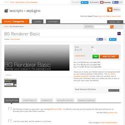 BG Renderer Basic