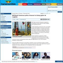 BGFIbank Cameroun prête à financer le champ gazier de Logbaba