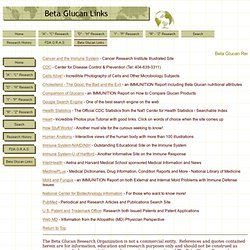 BGRO - Beta Glucan Links