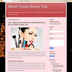 Bharti Taneja Beauty Tips: Top 7 Makeup Essentials Every Bride Must Have In Her Winter Vanity Case