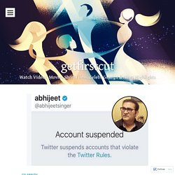 Twitter Suspends Abhijeet Bhattacharya's Account after 'offensive' tweets, especially against women!