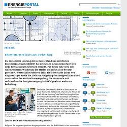 BHKW-Markt wächst 2011 zweistellig - energieportal, energieberater, energetisch bauen und sanieren