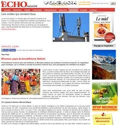 Bhoutan, pays du bouddhisme tibétain