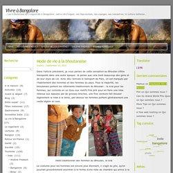 Mode de vie à la bhoutanaise