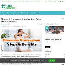 Bhramari Pranayama Step by Step Guide and Its Benefits