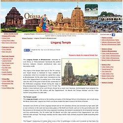Lingaraj Temple - Lingaraj Temple Bhubaneswar - Lingaraj Mandir Bhubaneshwar - Temple of Lingaraj