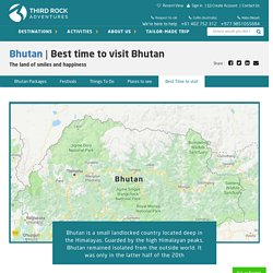 Bhutan-Best Time to Visit Bhutan