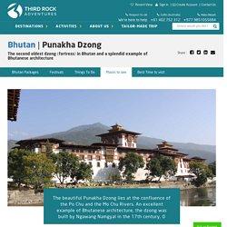 Bhutan-Punakha Dzong in Bhutan