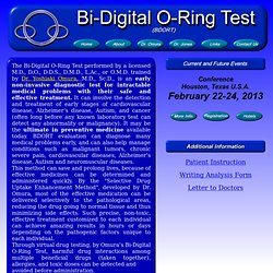Bi-Digital O-Ring Test