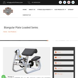 Biangular Plate Loaded Series Manufacturers Suppliers Exporters India