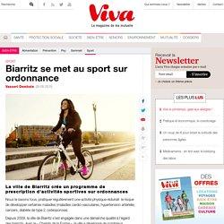Biarritz se met au sport sur ordonnance