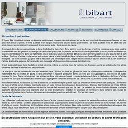 bibart - LE LIVRE D'ARTISTE