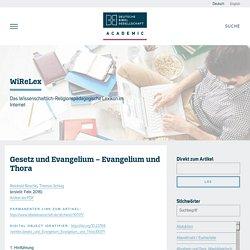Das Wissenschaftlich-Religionspädagogische Lexikon im Internet