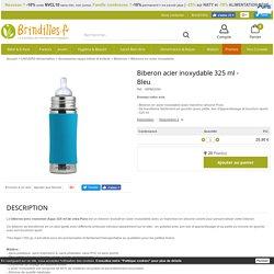 Biberon acier inoxydable 325 ml - Aqua Pura kiki
