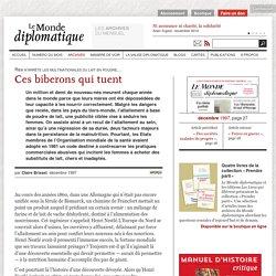 Ces biberons qui tuent, par Claire Brisset (Le Monde diplomatique, décembre 1997)