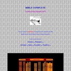 bible complète