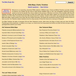 Bible Maps, Timelines, Charts, Lineages