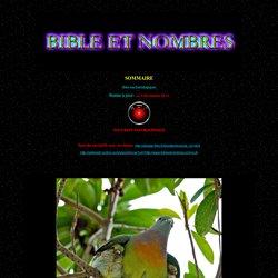 Bible et nombres