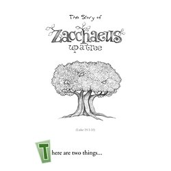 Bible Stories for Kids - Zacchaeus Up a Tree