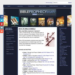 Bible Prophecy Truth > Topics > Keys to Bible Symbols