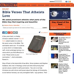 Bible Verses That Atheists Love
